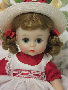 Alex-kin BKW in a red dress #DollswithClothingAccessories