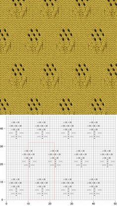 ,,, Lace Knitting Stitches, Crochet Stitches Patterns, Knitting Charts, Lace Patterns, Baby Knitting, Stitch Patterns, Sewing Patterns, Knitted Blankets, Couture