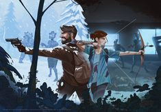 Last Of Us, The Lest Of Us, Joel And Ellie, Tmnt Girls, Night In The Wood, V Games, Life Is Strange, Baby Owls, Video Game Art