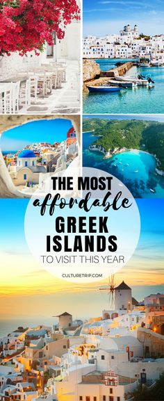 The Most Affordable Greek Islands to Visit This Year|Pinterest: theculturetrip