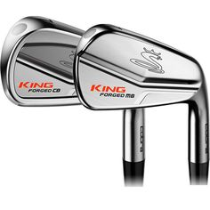 Cobra KING Forged CB/MB Chrome Irons Golf Attire, Golf Outfit, Cobra Golf, Golf Chipping, Golf Putting, Golf Irons, Taylormade, Golf Tips, Golf Ball