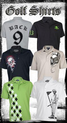 Tattoo Golf Clothing - Men's & Ladies Golf Clothes - Golf Shirts - Golf Accessories
