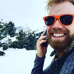 #BringLifeToWork - @karles kombinerar semester med sin familj och telefonmöte med @swedbanksverige i St. Moritz  #gbgtech #gbgftw #startuplife #sthlmtech #mobilakontoret #snow #företagskultur