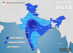 Monsoon India 2015: Southwest Monsoon Forecast For July 22 - See more at: http://www.skymetweather.com/content/weather-news-and-analysis/monsoon-india-2015-southwest-monsoon-forecast-for-tomorrow/#sthash.FN2eLorH.dpuf