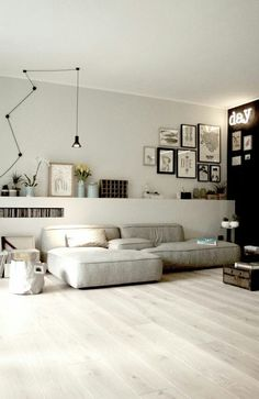 Minimalist Living Room Ideas - Locate your favored Minimal living-room pictures right here. Check out photos of motivating Minimalist living-room design ideas to develop your excellent house. Home Interior, Living Room Interior, Home Living Room, Living Room Designs, Interior Architecture, Living Room Decor, Living Spaces, Interior Decorating, Decorating Ideas