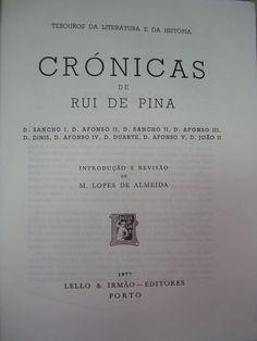 CRÓNICAS DE RUI DE PINA | VITALIVROS