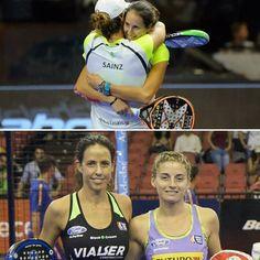 Estas dos parejas pelearan por el titulo mañana en el #WPTSevillaOpen Mucha suerte!  #worldpadeltour #padel #instapadel #padeladdict
