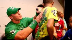 WWE.com: Circle of Champions: John Cena grants Hamza's wish: photos #WWE