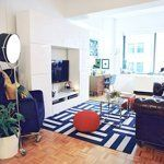 Real Room Inspiration: Adding Color With Rugs Apartment Therapy's Home Remedies | Apartment Therapy