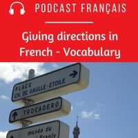 Learn French by Podcast - Giving Directions In French - Vocabulary - Learn French by Podcast – Giving Directions In French – Vocabulary – par J'aime le françai - Learn French Fast, Spanish Class, Giving, Learn English, 3d Printing, Student, Humor, Health, Videos