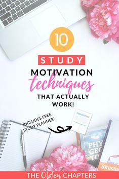 The best study motivation tips and inspiration to help you stay focused, work hard, and skyrocket your grades. These top student tips are the ultimate studyspiration for college, high school, graduate school students. Also includes tips to improve your study notes and ideas to maintain a beautiful study aesthetic that will continue to boost your motivation and prepare you for every exam. Even includes a free study planner to help you get started! Pin now and read today! #studymotivation