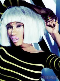 #NickiMinaj #Hair