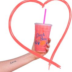 Love at first sight!  Strawberry White Chocolate Dutch Soda <3