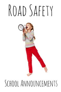 Here's some example morning announcements on a number of common road safety topics. Morning Announcements, Safety Topics, Ontario, Pajama Pants, Number, Sleep Pants