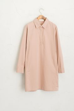 Olive - Hidden Button Detail Shirt Dress, Pink, £69.00 (http://www.oliveclothing.com/p-oliveunique-20160120-119-pink-hidden-button-detail-shirt-dress-pink)