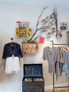Flock store in Boston / retail / retail space / visual merchandising