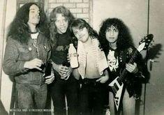 Metallica Albums, Jason Newsted, Great Comebacks, Goth Music, Cliff Burton, Robert Trujillo, Master Of Puppets, Ride The Lightning, Kirk Hammett