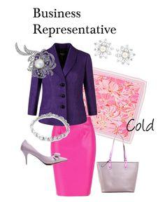 Business Representative Cold by natalia-minnigalimova on Polyvore featuring мода, Precis Petite, Bling Jewelry, Swarovski, Nina and Dolce&Gabbana