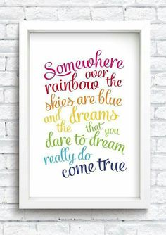 Gorgeous wall art for a nursery