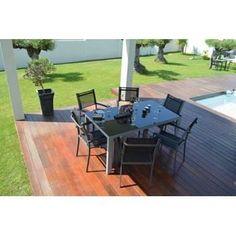 Table jardin en métal 180 cm NOVA Luxe - Achat / Vente table de jardin Table jardin en métal 180 c - Cdiscount