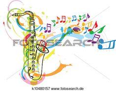 musik, fest, abbildung Große Clipart Grafik anschauen