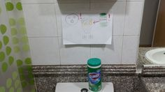 When you don't share a language with your flatmates, communication has to get a bit creative. - Imgur #yournewflatmate