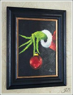 grinch painting