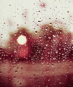 Rain, by me! <3  ~Rain falls against the window, as soft as soft can be. Little droplets drop one by one, as misty eyes could see. Waiting for the day to past, when one can jump and spree. To feilds with endless dew weted grass, as soft as soft can be~