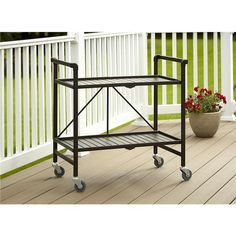 Serving Cart for Dining Room Outdoor Folding Rolling Wheels Serving Cart Bar wheels Portable Trolley Storage Home Kitchen Indoor Food Cocktail Living Room Folda Outdoor Serving Cart, Outdoor Dining, Indoor Outdoor, Outdoor Spaces, Outdoor Ideas, Outdoor Decor, Best Outdoor Furniture, Garden Furniture, Room Accessories
