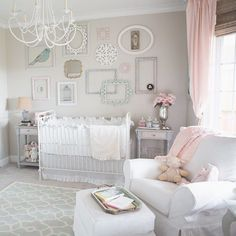 essence: visual mapping - Pastel perfection! Tour this entire nursery via...