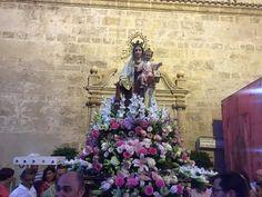 Virgen del Carmen. Huécija #Alpujarra #Almería