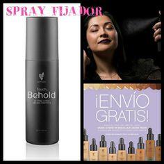 Hazte con el tuyo y fija tu maquillage durante todo el día.  www.youniqueproducts.com/AlbaSanchez