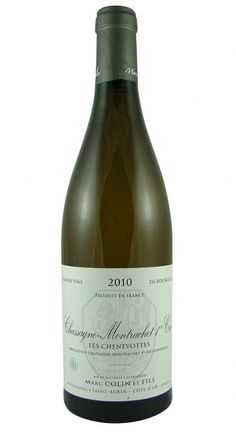 Chassagne-Montrachet Les Chenevottes Premier Cru 2010 Marc Colin from Burgundy Wine Cellar.