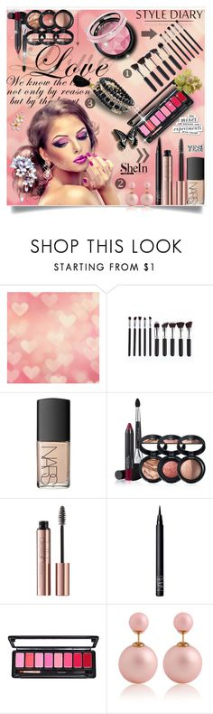 """Shein 9/10"" by erina-salkic ❤ liked on Polyvore featuring NARS Cosmetics, Laura Geller and Kate Spade"