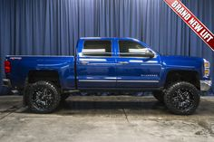 Used Lifted 2015 Chevrolet Silverado 1500 LTZ with miles at Northwest Motorsport in Puyallup, WA. Buy a used Blue Chevrolet Silverado. Lifted Chevy Trucks, Gm Trucks, Chevrolet Trucks, Chevy 4x4, Diesel Trucks, Pickup Trucks, 2015 Chevrolet Silverado 1500, 2014 Chevy, Silverado 4x4