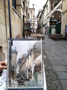 Watercolor by 簡忠威 Chien Chung-Wei, Bristol England