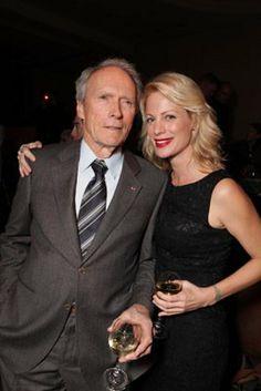Clint Eastwood & daughter Alison - actress /model/fashion designer