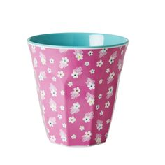 Melamine Cup Ditsy Pink Flower Print by Rice of Denmark - Rice of Denmark - kitchen What a Lovely Shop Tupperware, Vintage Flowers, Vintage Pink, Cool Gifts, Unique Gifts, When Is My Birthday, Melamine, Baby Clothes Online, Retro Baby