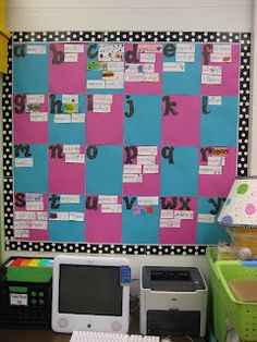 Word walls can be done for any age! This helps the students help the students with spelling.