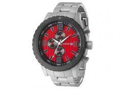 Relógio Masculino Magnum MA33602V - Analógico Resistente à Água Cronógrafo