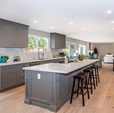 What I dont like is the ceiling! Is there a way to make the open concept low ceiling have some depth and contrast?