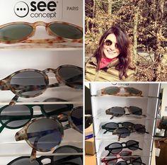 #Goods4Home New in: hippe zonnebrillen van See Concept uit Parijs. En zo handig als je wil lezen in de zon want wij hebben ze ook op sterkte #Haverstraatpassage #Enschede