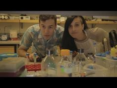 """The Lab"" is a comedy series about graduate students working in a science lab."