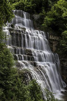 Les Cascades du Herisson, France