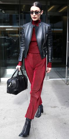 Bella Hadid's Best Street Style Looks - March 21, 2017 from InStyle.com