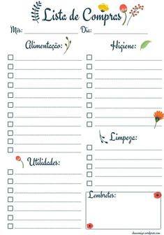 Planners Gratuitos 2017 (MODELOS) 2017 Planner, Agenda Planner, Blog Planner, Happy Planner, Printable Planner, Planner Stickers, Types Of Planners, Bullet Journal School, Project Planner