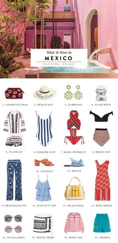 What to wear in Cancun and Tulum. packing tips for Mexico