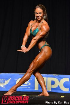 Jayne Trcka is a female professional bodybuilder and actress