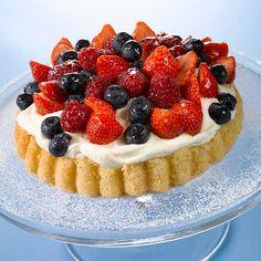 Marja-sitruunatorttu Berries, Cheesecake, Pie, Easter, Desserts, Food, Torte, Tailgate Desserts, Cake