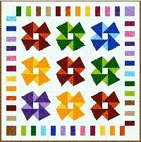"Origami 57"" x 57"""
